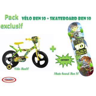 Vélo Ben 10 + Skate board Ben 10 OFFERT   Achat / Vente VEHICULE