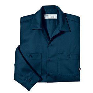 Dickies   LL307   Industrial Long Sleeve Cotton Work Shirt