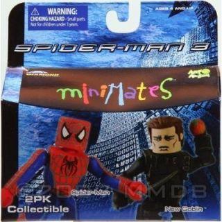 Minimates série 17  Spider man et New Goblin   Achat / Vente