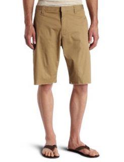 Mens Smoothwater Classic Chino Short , Dark Khaki, 38 Clothing
