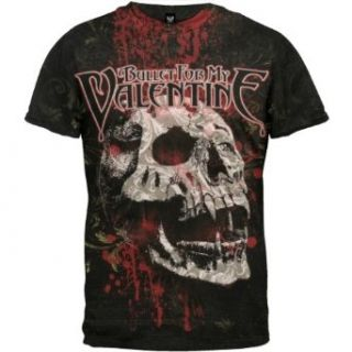 Bullet For My Valentine   Bloodskull T Shirt Clothing