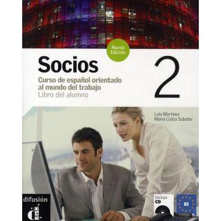 Socios 2 libro del alumno + cd   nouvelle edition   Achat / Vente