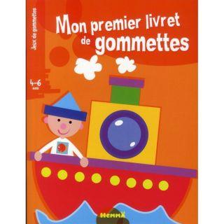 Mon premier livret de gommettes ; marin   Achat / Vente livre Nadine