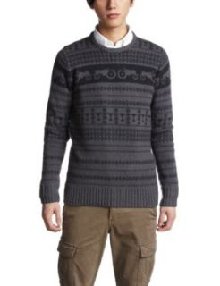 Moods of Norway Mens Alfred Tractor Knit Pull Over