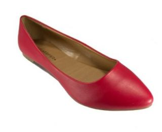Toe Ballet Flat Red, White, Mint, Royal Blue, Mint, Pink Shoes