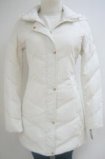 Guess Chevron Walker Down Coat, Jacket, Cream, Medium