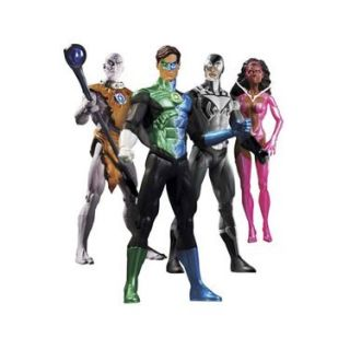 Blackest Night 17 cm   Pack de 4 figurines articulées taille env. 17