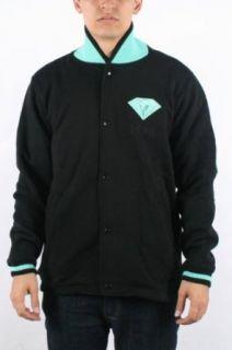 Diamond Supply   Mens 1998 Emblem Varsity Jacket in Black