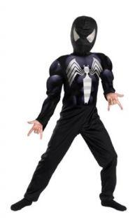 Black Spiderman Child Costume Size 4 6 Small Clothing