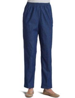 Alfred Dunner Womens Medium Length Pant Clothing
