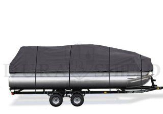 DuraShield 21 to 24 Pontoon Boat Cover with Heavy Duty