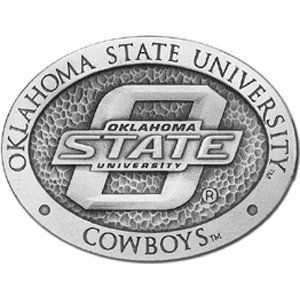 Oklahoma State Cowboys Belt Buckle   NCAA College