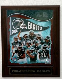 2008 Philadelphia Eagles Picture Plaque