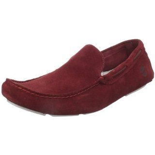 Timberland Mens Heritage Venetian Driving Shoe,Dark Red,8 W US Shoes