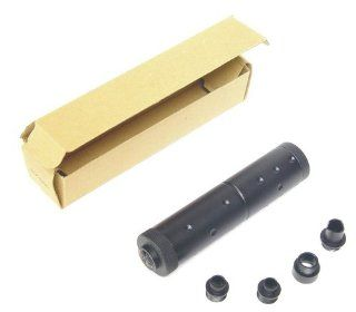UTG Airsoft Aluminum Fake Silencer With 4 Threaded Adaptor