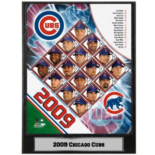 2009 Chicago Cubs 9x12 inch Photo Plaque