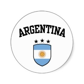 Argentina Stickers