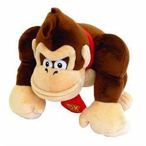 24 cm   Achat / Vente PELUCHE Peluche Donkey Kong   24 cm