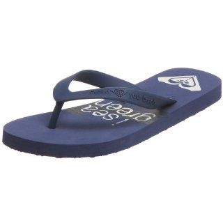 Eco Friendly Recyclable Decompostable Flip Flop,Blue,6 M US Shoes