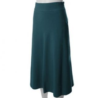 Adi Designs Flowing A line Easy Care Skirt Clothing