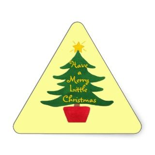 Have a Merry Little Christmas   Tree Sticker