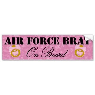 Force Brat On Board (Window Sticker) Bumper Stickers
