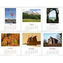 Cat Art North Carolina Seasons 2011 Desktop Calendar