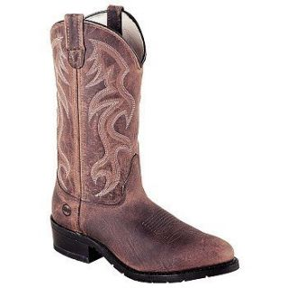 Double H Boot   Mens   12 Inch AG7 Work Western Shoes