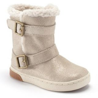 New Stride Rite Safi Gold Baby Girls 7 $45 Shoes
