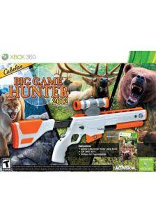 Xbox 360   Cabelas Big Game Hunter 2012 w/gun