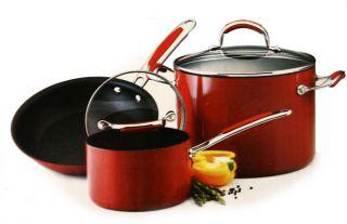 KitchenAid Gourmet 10 piece Porcelain Enamel Cookware Set