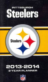 Pittsburgh Steelers NFL 2013 14 2 Year Planner (Calendar)