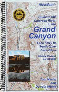 Colorado River in The Grand Canyon Map   4th E RiverMaps