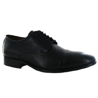 Clarks Dexie Cap Black Leather Mens Shoes Shoes