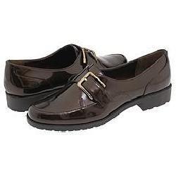 AK Anne Klein Leone Bronze Patent Loafers