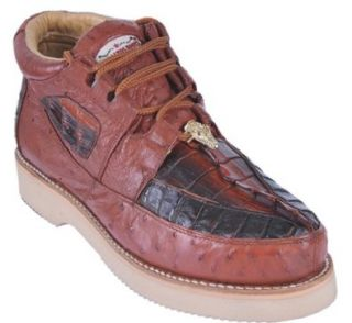 Genuine Leather Mens Ankle High BOOTS Casual Handmade 21063 Shoes