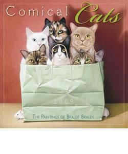 Comical Cats 2009 Wall Calendar