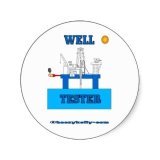 well tester oil field sticker oil field decal oil patch sticker oil