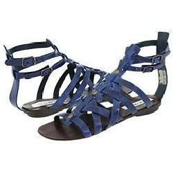 Steve Madden Notionn Blue Leather Sandals
