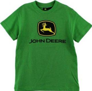 John Deere Classic Logo Green Boys Short Sleeve Tee