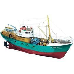 Maquette bateau Le Marignan 1/33   Maquette navigante du chalutier Le