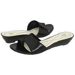 AK Anne Klein Alexi6 Black Sandals