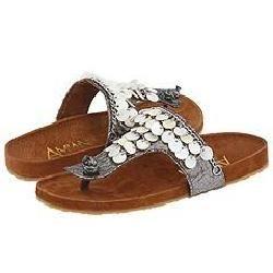 Amiana Kids 15 AO455 (Youth) Grey Iridescent Sandals