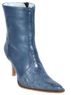 Ostrich Leg Dress Womens Cowboy Boots Western Classics 21080 Shoes