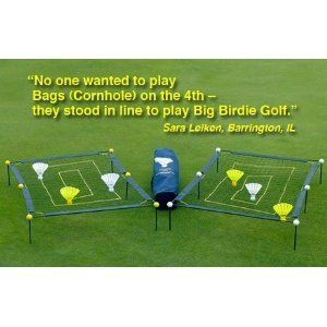 Big Birdie Golf ~ Full Swing Training Aid ~ Outdoor Game