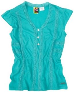 Roxy Girls 7 16 Next Best Thing Solid Knit Blouse With