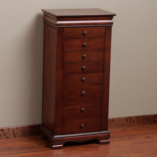 Marqs 8 drawer Locking Jewelry Armoire