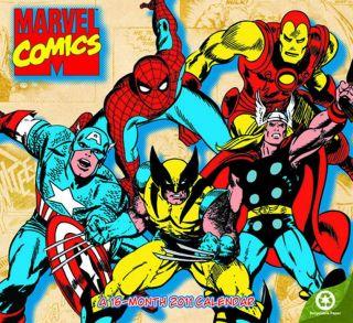 Marvel Heroes 2011 Wall Calendar