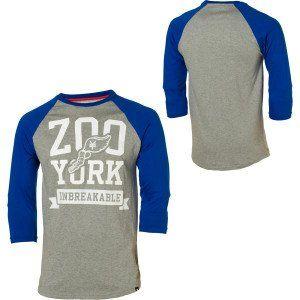 Zoo York Varsity Raglan T Shirt   Long Sleeve   Mens