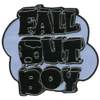 Fall Out Boy   Cloud Logo Iron On Parch: Clothing
